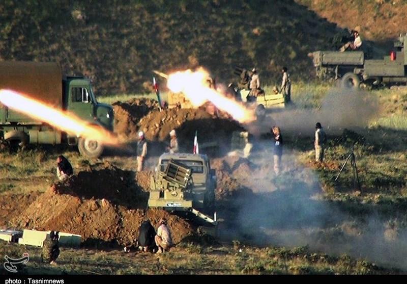 گزارش ویدئویی| رزمایش سپاه علیه تروریستها در مرزهای غرب کشور / حملات توپخانهای، موشکی و پهپادی به مقر ضدانقلاب