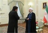 پاکستان کے سفیر رحیم حیات قریشی نےایرانی صدر ڈاکٹر حسن روحانی کو اپنی اسناد پیش کیں