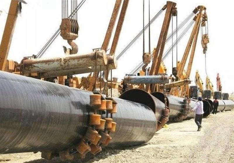 افتتاح المشروع الحکومی الاستراتیجی الأکبر لانبوب نقل النفط الخام الى میناء جاسک