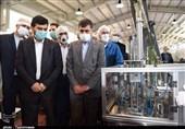 بازدید سرپرست وزارت صنعت از یک واحد تولیدی در البرز به روایت تصویر