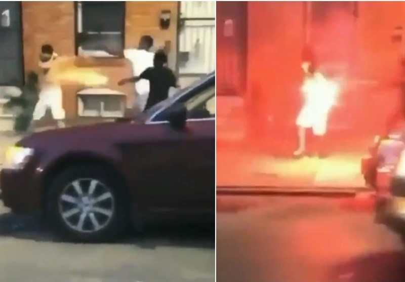 Man Attacked with Fireworks in Southwest Baltimore (+Video)