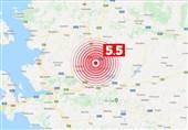 زلزله 5.5 ریشتری در مانیسای ترکیه