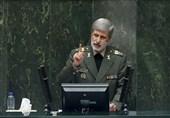 وزیر دفاع: مجلس باید اختیارات مستهلک وزارت دفاع را احیا کند