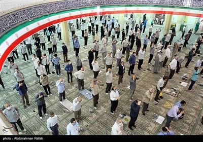 اقامه نماز جمعه همدان پس از چهار ماه تعطیلی