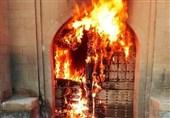 نابودی یک اثر 300 ساله توسط افراد ناشناس / بنای تاریخی خانه مرعشی شوشتر در آتش سوخت