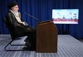 ارتباط تصویری امام خامنهای با همایش سراسری قوه قضائیه