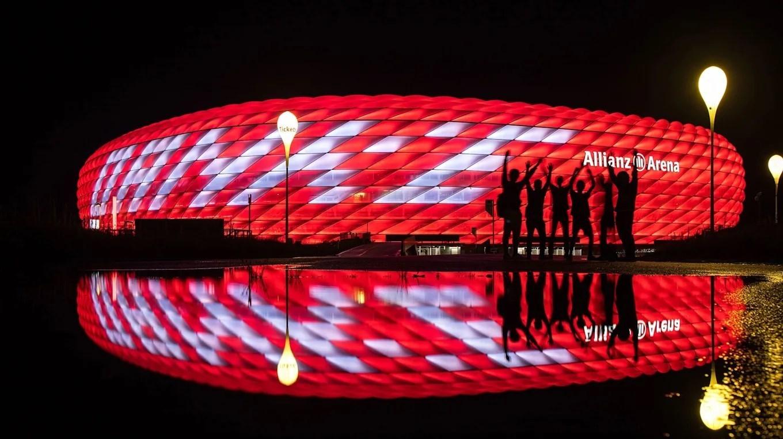 جشن سی امین قهرمانی بایرن مونیخ در بوندس لیگا