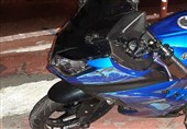 مرگ ترکنشین موتورسیکلت پس از 100متر کشیدهشدن روی آسفالت + تصاویر