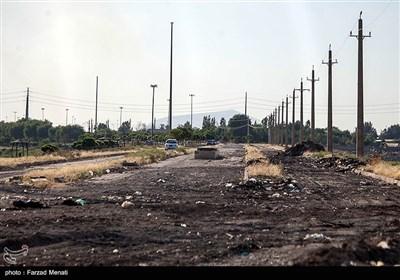خشکی رودخانه فصلی - کرمانشاه