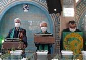 خادمان حرم رضوی در دهه کرامت از مدافعان سلامت استان بوشهر قدردانی کردند