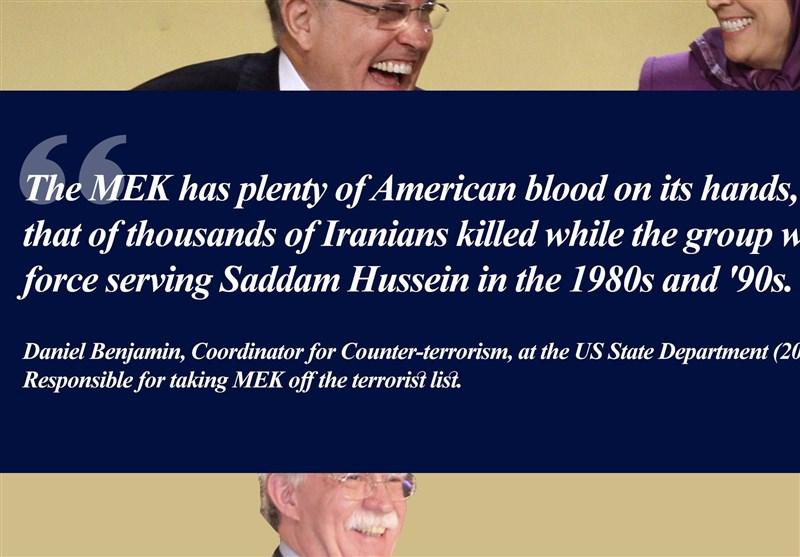 اروپا و آمریکا شریک جنایت منافقین در کشتار مردم بیگناه ایران هستند