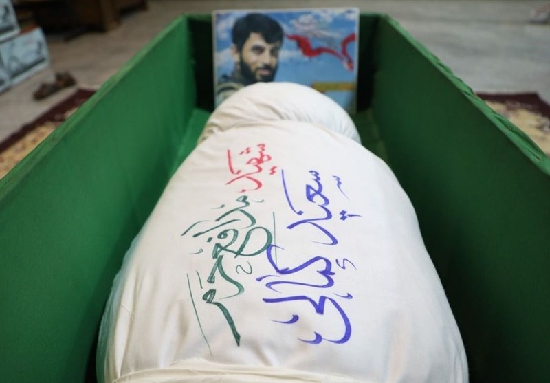 پیکر شهید سعید کمالی در معراج شهدا+عکس و فیلم