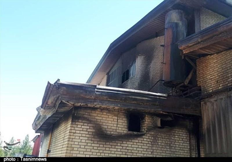 پیگیری جدی قضایی برای دستگیری عامل آتش زدن منزل در شهر صدرا