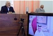 رایزنی ظریف و همتای قطری درباره آخرین تحولات منطقهای و همکاریهای دوجانبه
