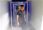 مجهزترین تونل ضدعفونی کشور در ورزشگاه آزادی