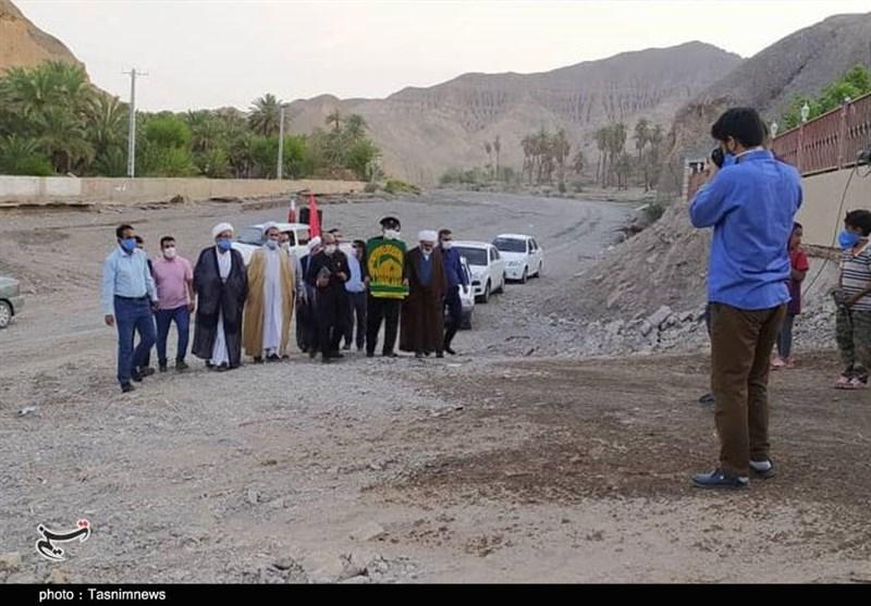 طنین صلوات خاصه امام رضا (ع) در روستای سیلزده جهر کرمان + تصاویر