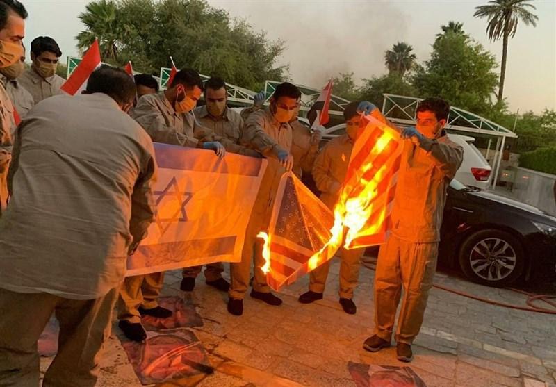 حزب الله عراق : برای اخراج نظامیان آمریکایی آمادهایم/ آنها فقط زبان زور میفهمند