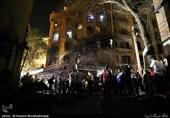 دانشجویان دانشگاه آزاد در بین فوتیهای سانحه کلینیک سینا