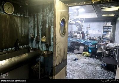 ۱۱ متهم آتشسوزی کلینیک سینا با قید وثیقه آزاد شدند/حادثه امنیتی نبود