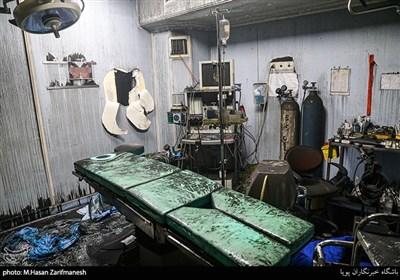 تصاویر اختصاصی تسنیم از کلینیک سینا پس از انفجار مهیب