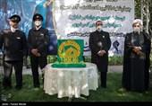 خادمان حرم رضوی از مدافعان سلامت کرمانشاه تجلیل کردند + تصاویر