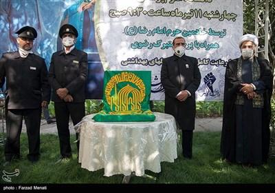 حضور کاروان زیر سایه خورشید در دانشگاه علوم پزشکی کرمانشاه