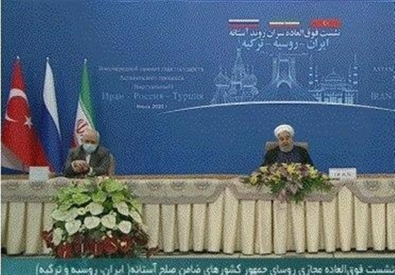 Iran President: Astana Peace Guarantors Resolved to Fight against Terrorism in Syria