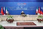 نشست مجازی روند آستانه|روحانی: فشارهای آمریکا خللی در اراده کشورهای دوست سوریه ایجاد نمیکند