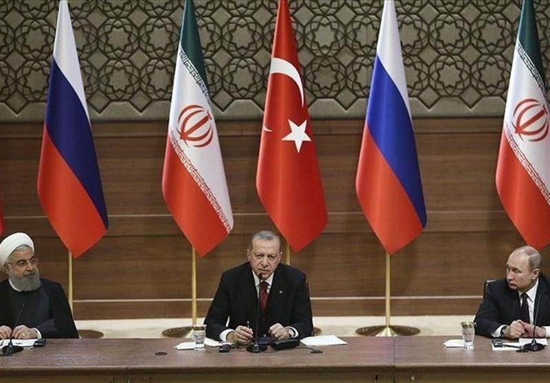 بیانیه مشترک نشست مجازی سران روند آستانه | تعهد ایران، روسیه و ترکیه به استقلال و تمامیت ارضی سوریه