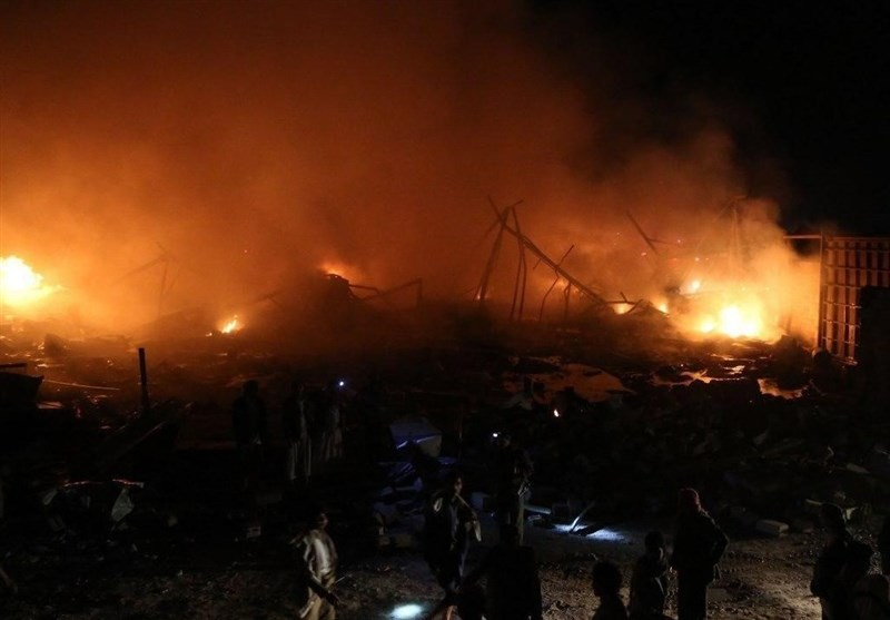 صنعاء به شدت بمباران شد