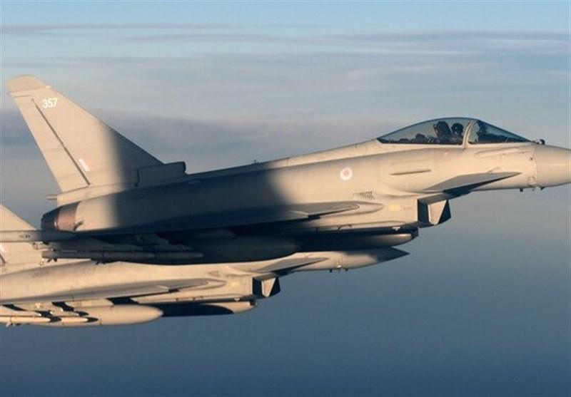 رهگیری هواپیمای روسی توسط جنگندههای انگلیسی در دریای بالتیک