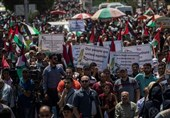 Hundreds Protest in Gaza against West Bank Annexation Plan (+Video)