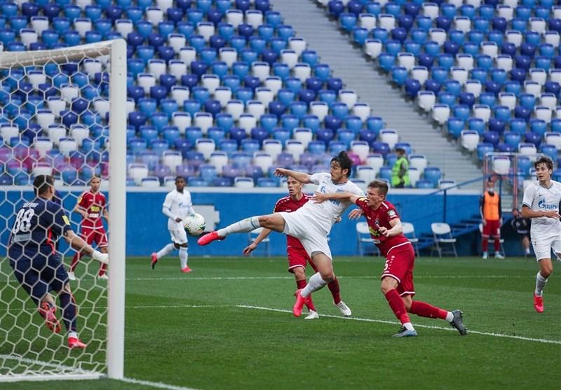 Azmoun Helps Zenit Win Russian Premier League