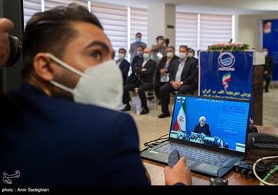 آیین افتتاح طرح های ملی وزارت نیرو در استان های فارس