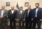 دیدار نماینده حماس در لبنان با فیروزنیا؛ تقدیر از حمایتهای بیدریغ ایران از ملت فلسطین