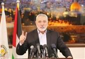 تقدیر هنیه از ایران و تاکید بر ادامه مقاومت تا پایان اشغال سرزمین فلسطین