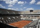 """محدودیت حضور تماشاگران در تورنمنت تنیس """"رولان گاروس"""""""