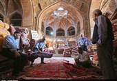 بازار فرش قزوین به روایت تصویر