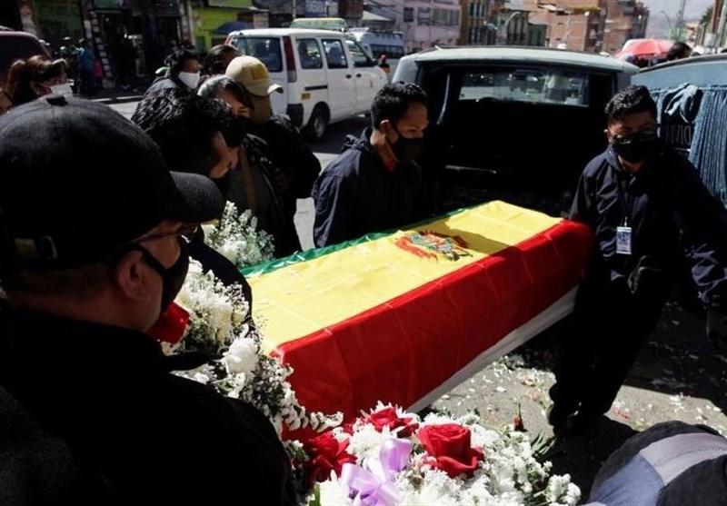 اعتراض به سبک بولیوی؛ جسد قربانی کرونا در خیابان رها شد