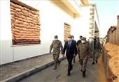 بازدید وزیر دفاع ترکیه از نیروهای نظامی مستقر این کشور در لیبی
