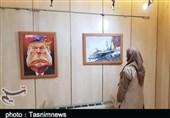 ﻧﻤﺎیشگاه جهانی «نمیتوانمنفس بکشم» در لرستان برپا شد+تصاویر