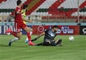 لیگ برتر فوتبال| پیروزی تراکتور مقابل صنعت نفت در نیمه اول
