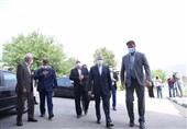 حضور مسئولان کمیته ملی المپیک در محل یادبود درگذشتگان و شهدای رشته قایقرانی