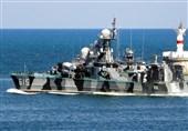 مانور کشتیهای موشک انداز روسیه در دریای سیاه