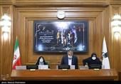 محسن هاشمی رئیس شورای شهر تهران در جلسه علنی شورای شهر