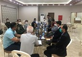 نشست هماهنگی دیدار پارس جنوبی و استقلال برگزار شد!/ شاگردان افاضلی به ورزشگاه تختی رفتند + تصاویر