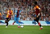 سوپرلیگ ترکیه  پیروزی ارزشمند ترابزوناسپور در خانه گالاتاسرای