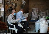 گلستان| ماسک سپری ایمن در برابر کرونا/ همکاری مردم برای شکست بیماری+ تصاویر
