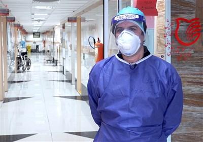 در خط مقدم مبارزه با کرونا چه میگذرد؟/روایتی از اشک و لبخند روزهای کرونا در بیمارستان شهدای تجریش