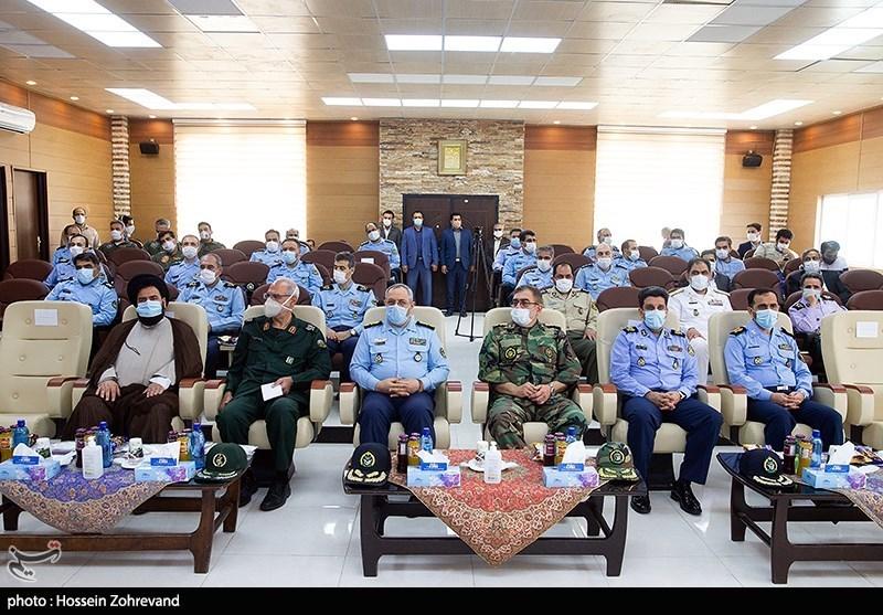 امیر خلبان عزیز نصیرزاده فرمانده نیروی هوایی ارتش